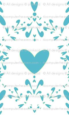 Hearted Damask Steeple - Lure - Venture - © PinkSodaPop 4ComputerHeaven.com