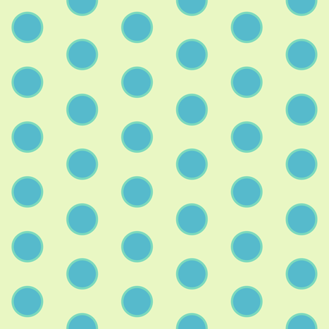 Polka Dots - Lure - Venture - © PinkSodaPop 4ComputerHeaven.com fabric by pinksodapop on Spoonflower - custom fabric