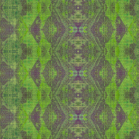 bishop's blanket - purple, lime green, light blue fabric by materialsgirl on Spoonflower - custom fabric