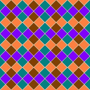 Rotated squares