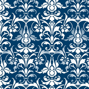 Time Travel Damask