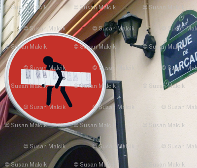 Do Not Enter, Paris