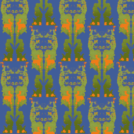 Jungle Fever fabric by susaninparis on Spoonflower - custom fabric