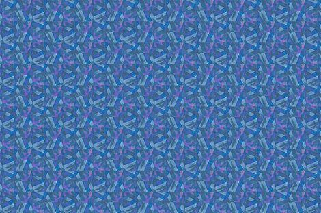 Prism Shards - blue, pink, purple fabric by materialsgirl on Spoonflower - custom fabric