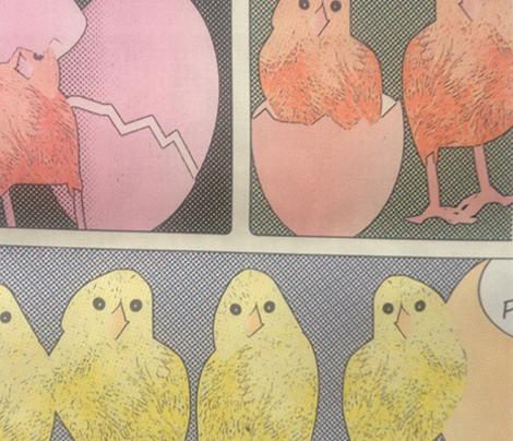 chicken coop pop art way