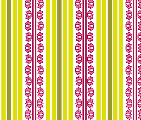 tinyLotus Big fabric by thelazygiraffe on Spoonflower - custom fabric
