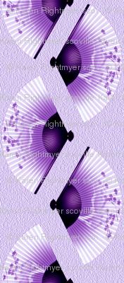 japanese fans purple