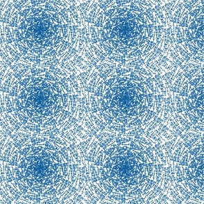 Blue crop circles