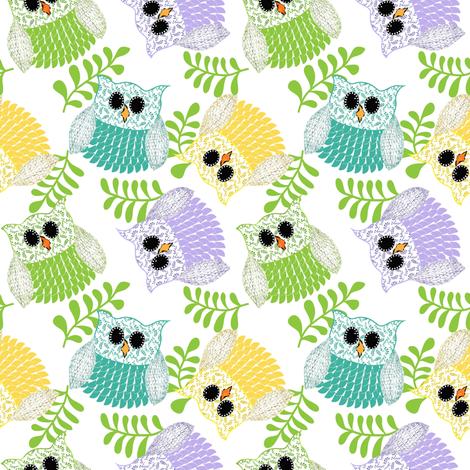 Lulu in a tutu fabric by vo_aka_virginiao on Spoonflower - custom fabric