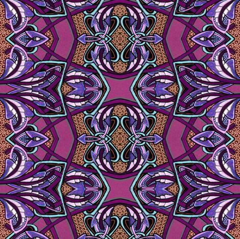 Zig Zag Bow Tie Surfboard Stuff fabric by edsel2084 on Spoonflower - custom fabric