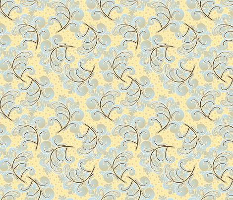 fern plumes fabric by glimmericks on Spoonflower - custom fabric