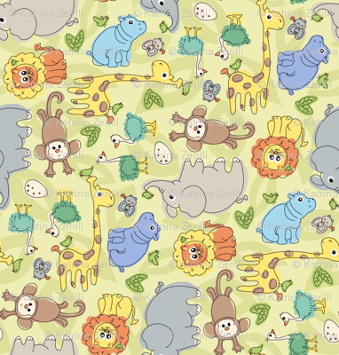 Baby Jungle Animals