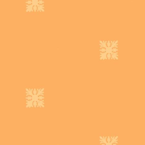 Small Hawaiian quilt stamp fabric by marina_hina on Spoonflower - custom fabric
