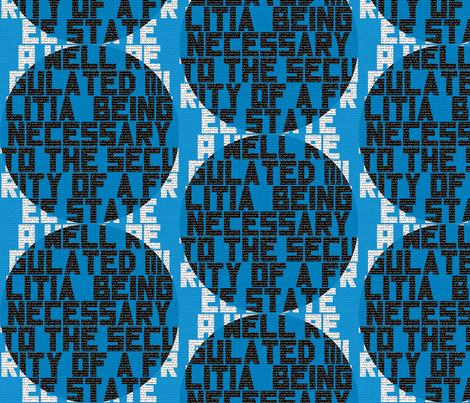 Second Amendment fabric by antieuclid on Spoonflower - custom fabric