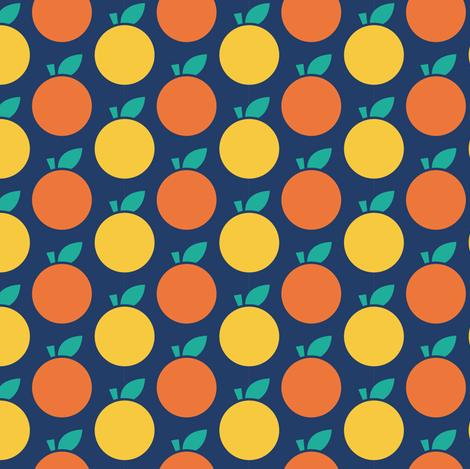 Cider Apples fabric by elinvanegmond on Spoonflower - custom fabric