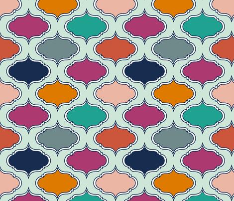 BoldJewelsWallpaper fabric by mrshervi on Spoonflower - custom fabric