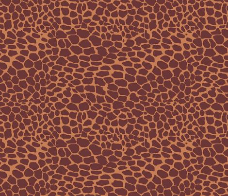 Giraffe Spots fabric by pond_ripple on Spoonflower - custom fabric