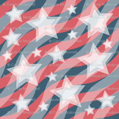 Large Stars and Stripes