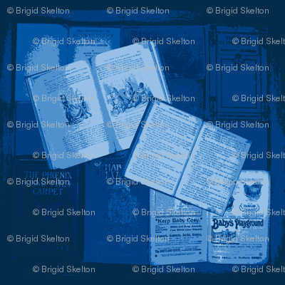 Bookbox reduced colour: blues