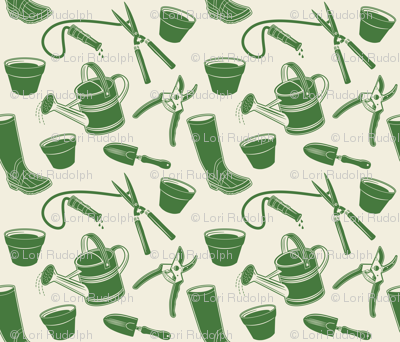 Gardening Tools ~ Green