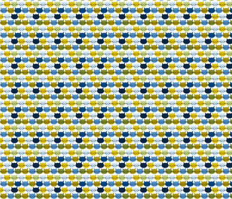 chat_c_est_toi_le_chat_bleu_v_S fabric by nadja_petremand on Spoonflower - custom fabric