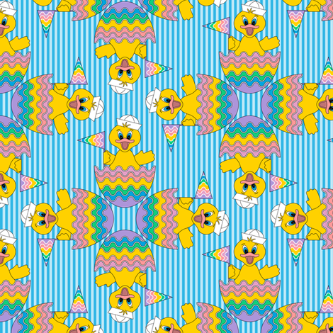Just Ducky fabric by jjtrends on Spoonflower - custom fabric