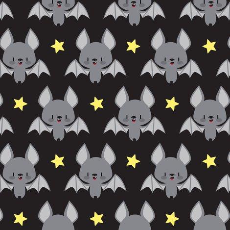 cute baby bats fabric petitspixels spoonflower. Black Bedroom Furniture Sets. Home Design Ideas