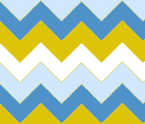 chevron_bleu_v_L fabric by nadja_petremand on Spoonflower - custom fabric
