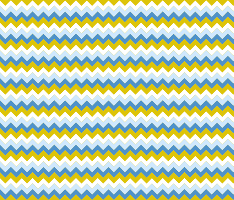 chevron_bleu_v_S fabric by nadja_petremand on Spoonflower - custom fabric