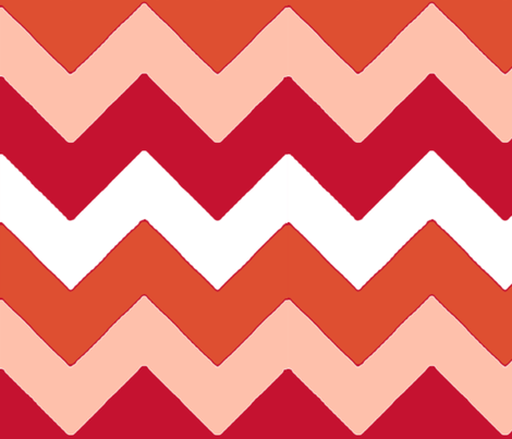 chevron_rouge_L fabric by nadja_petremand on Spoonflower - custom fabric