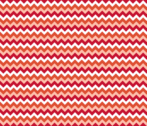chevron_rouge_S fabric by nadja_petremand on Spoonflower - custom fabric