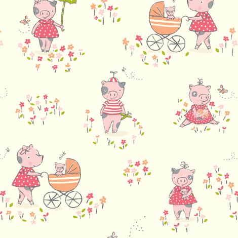This_little_piggy fabric by stacyiesthsu on Spoonflower - custom fabric