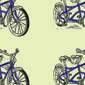 beach cruiser blue