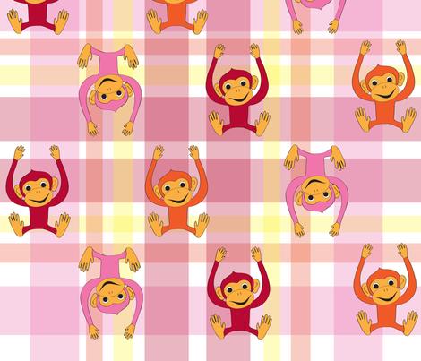 monkeymonkey fabric by suzan_ on Spoonflower - custom fabric
