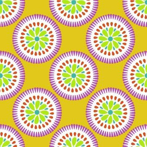 Sunburst Flower Yellow