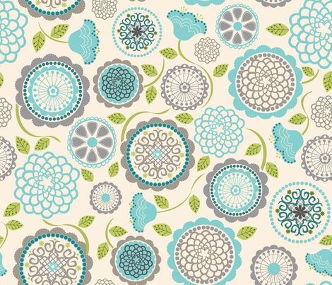 Inverness White fabric by natitys on Spoonflower - custom fabric