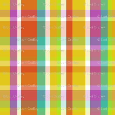Madras Plaid Yellow
