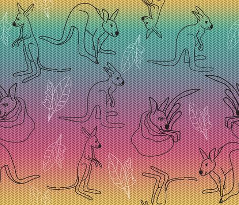 kanga_kids fabric by ruthless_art on Spoonflower - custom fabric