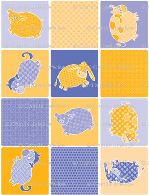 Pig & His Quilted Friends