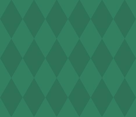Vintage Harlequin / emerald fabric by paragonstudios on Spoonflower - custom fabric