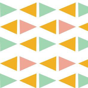sideways triangles