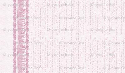 Jane Austin Says Border Print in Rose