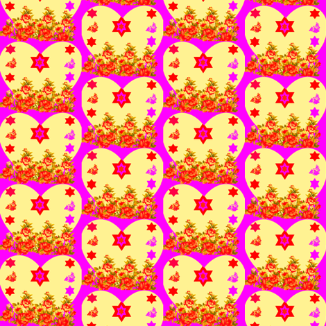 Rebekka fabric by winterblossom on Spoonflower - custom fabric