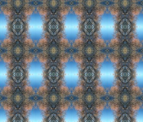 Snow_Trees fabric by adelagrace on Spoonflower - custom fabric