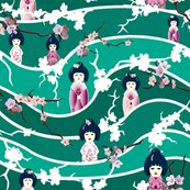 Rrstripe_wave_jade_white_blossoms_and_dolls_shop_thumb