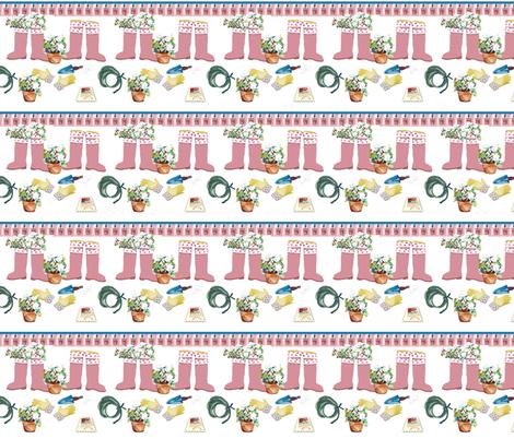 Petunia Boots fabric by karenharveycox on Spoonflower - custom fabric