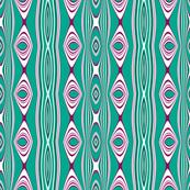 Chic Geometric Stripe by Sylvie