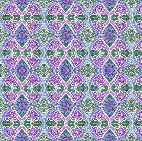 The Scent of a Southern Spring  fabric by edsel2084 on Spoonflower - custom fabric