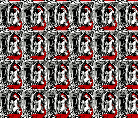 Lil Red fabric by gmstrawn on Spoonflower - custom fabric