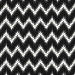 Ikat_Chevron_Black